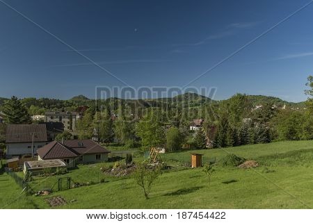 Nice sunny morning in Dolni Podluzi village