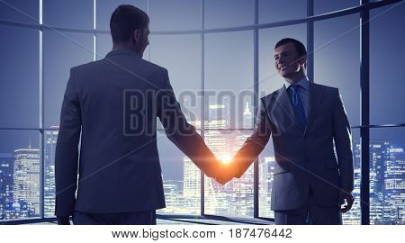 Nice to meet you partner . Mixed media . Mixed media