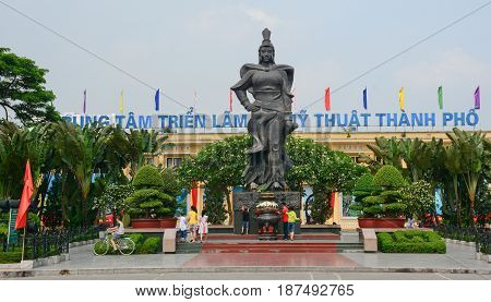 Hero Monument In Hai Phong, Vietnam