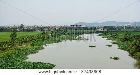 River Scenery In Hai Phong, Vietnam