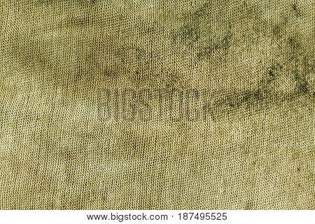 Dirty Yellow Textile Rag Texture.
