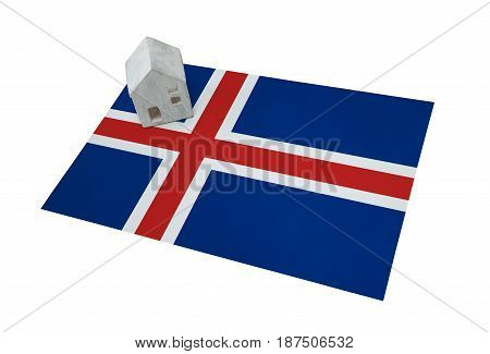 Small House On A Flag - Iceland