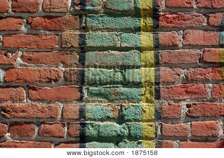 Antike Mauer