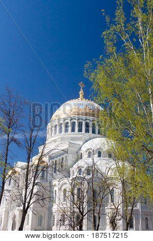 Naval Cathedral of Saint Nicholas in Kronstadt, Saint Petersburg