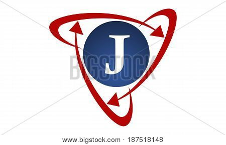 This image describe about  Online Marketing Business Distribution Technology Letter J