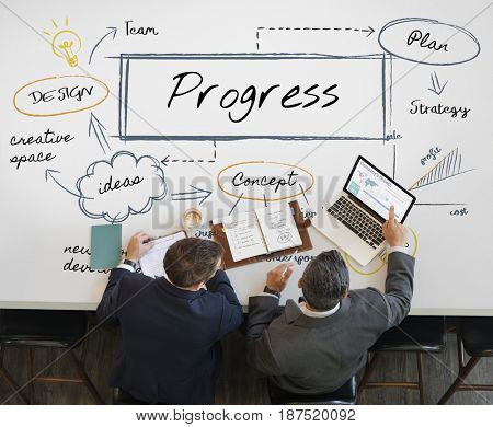Process business corporate success growth