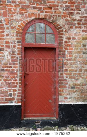 Door At The Old Manor House