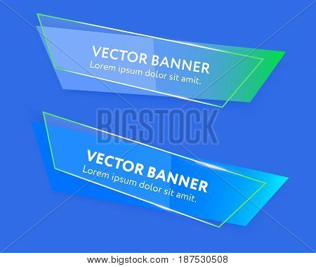 Vector Web Banners Template