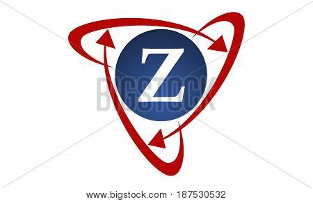 This image describe about  Online Marketing Business Distribution Technology Letter Z