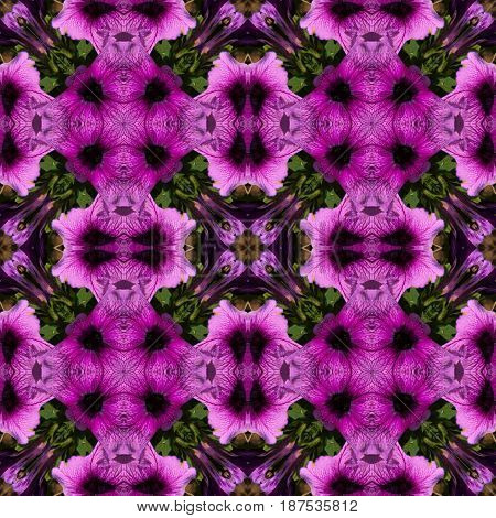 Abstract decorative flower background. Seamless colorful pattern.Ornamental pattern.