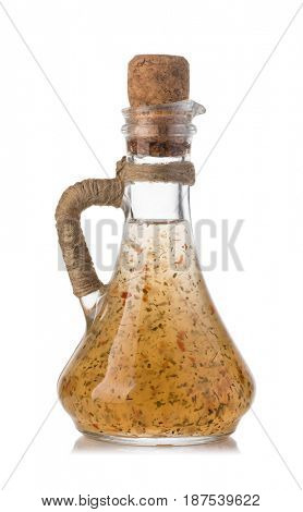 Sweet sour sauce isolated on white background