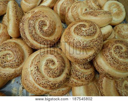 Variety Of Choice Of Fresh Bread