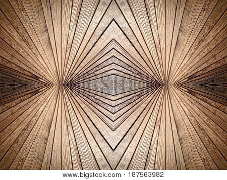 Abstract symmetry wooden texture pattern suitable as background.