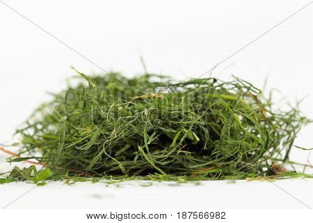 Grass,image Of , On White Background