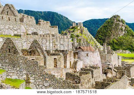 Machu Picchu, Incas Ruins In Andes At Cuzco, Peru