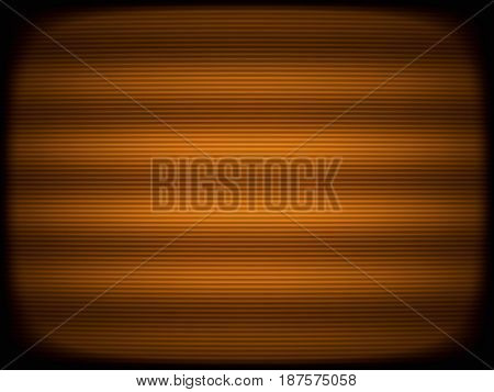 Horizontal orange tv scanlines illustration background hd