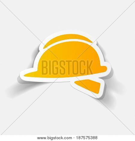 It is a realistic design element: helmet