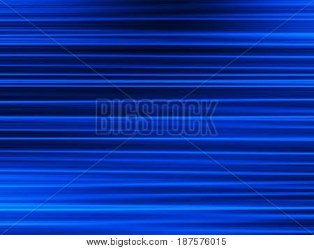 Horizontal blue motion blur bokeh background hd