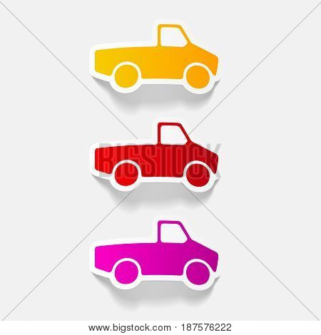 It is a realistic design element: car pickup