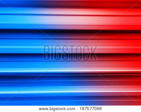 Red and blue metal bars motion blur background hd