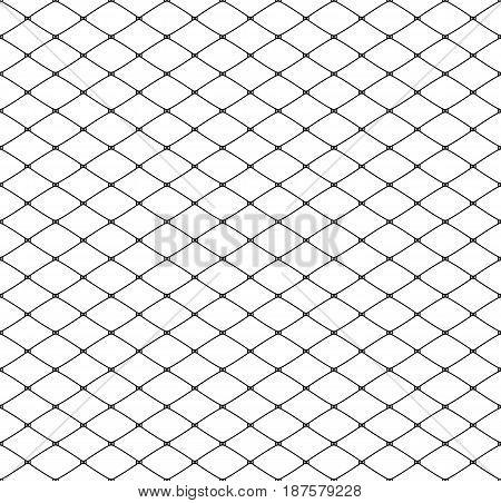 Seamless elegant classic lacy mesh. Vector illustration