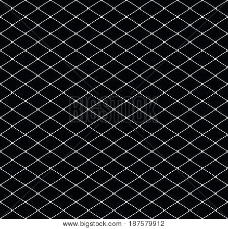 Seamless elegant classic lacy mesh. Vector illustration