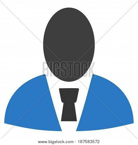 User Profile flat vector pictogram. An isolated illustration on a white background.
