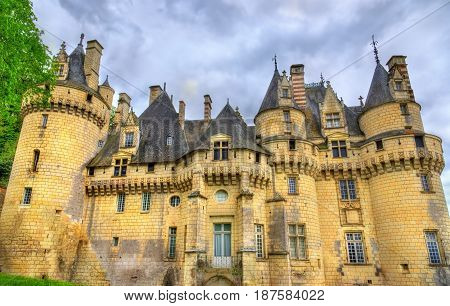 Castle of Usse in the Loire Valley. UNESCO world heritage site in France