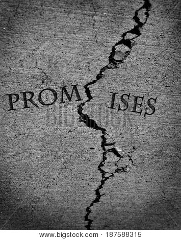 Broken Promises and breached agreement