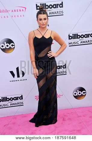 Lea Michele at the 2017 Billboard Music Awards held at the T-Mobile Arena in Las Vegas, USA on May 21, 2017.