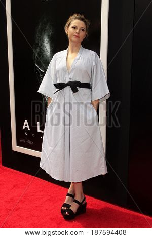 LOS ANGELES - MAY 17:  Amy Seimetz at the Ridley Scott Hand and Foot Print Ceremony at the TCL Chinese Theater on May 17, 2017 in Los Angeles, CA