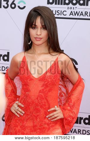 LAS VEGAS - MAY 21:  Camila Cabello at the 2017 Billboard Music Awards - Arrivals at the T-Mobile Arena on May 21, 2017 in Las Vegas, NV