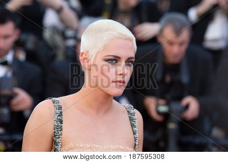 Kristen Stewart at the 120 Beats Per Minute (120 Battements Par Minute)  premiere for at the 70th Festival de Cannes.May 20, 2017 Cannes, France