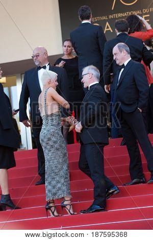 Thierry Fremaux at the 120 Beats Per Minute (120 Battements Par Minute)  premiere for at the 70th Festival de Cannes.May 20, 2017 Cannes, France