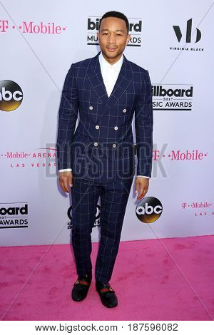LAS VEGAS - MAY 21:  John Legend at the 2017 Billboard Music Awards - Arrivals at the T-Mobile Arena on May 21, 2017 in Las Vegas, NV