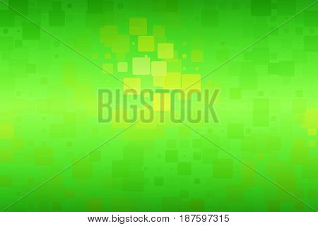 Green Yellow Brown Shades Glowing Various Tiles Background