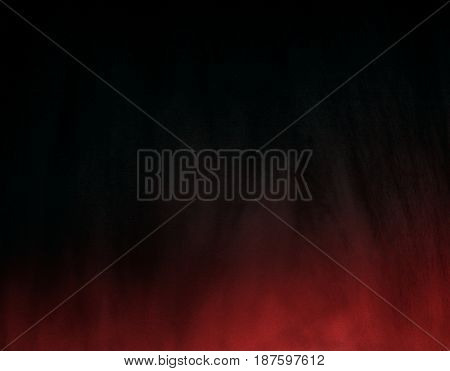 Dark black background with red gradient mystical darkness mysterious background