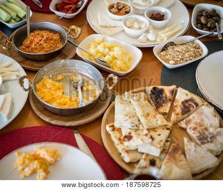 Beautiful food table