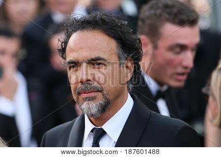 Alejandro Gonzalez Inarritu attends the 'The Killing Of A Sacred Deer' screening during the 70th Cannes Film Festival at Palais des Festivals on May 22, 2017 in Cannes, France.