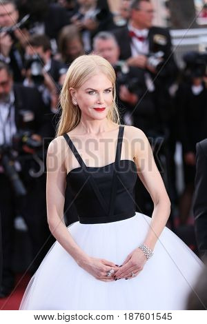 Nicole Kidman attends the 'The Killing Of A Sacred Deer' screening during the 70th Cannes Film Festival at Palais des Festivals on May 22, 2017 in Cannes, France.