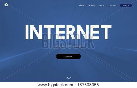 Internet Digital Technology Network Connection