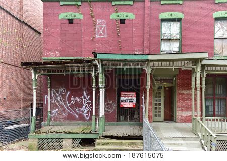 Astor Row - New York City