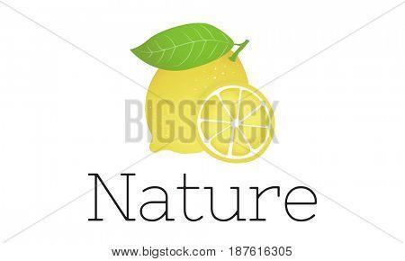 Lemon Refreshment Vegetable Healthy Graphic