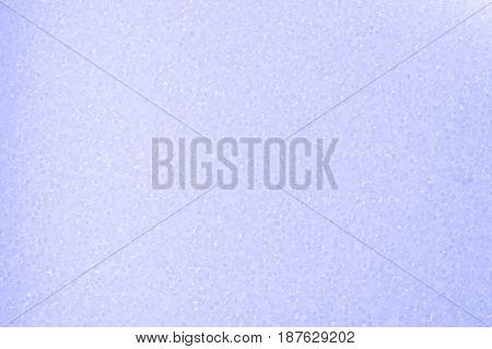 Close up of styrofoam light purple background