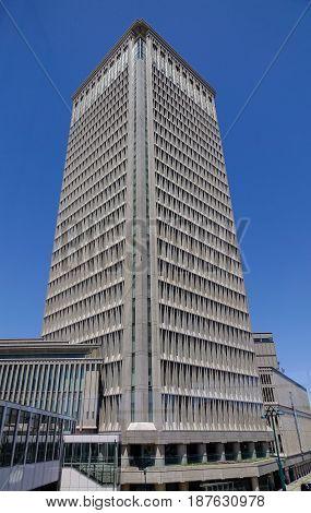 Modern Building In Yamagata, Japan
