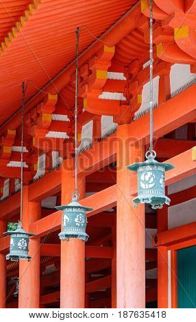 Architecture Of Shinto Shrine In Japan