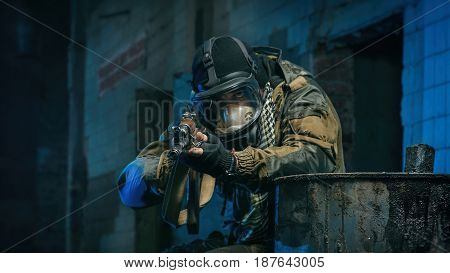 pictures of people in uniform with guns