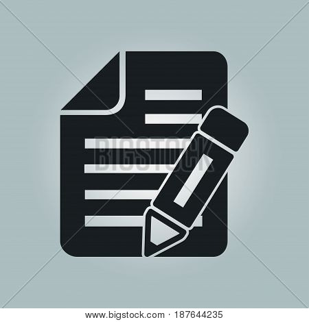 Make a request. Fill documents. Write the data into the document.