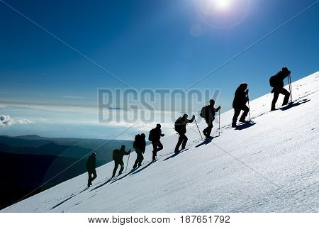 Professional climbing & climbing team & mountaineering