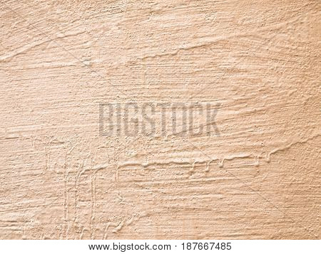 Old Beige Wall, Light Texture, Background For Design